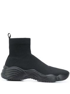 Emporio Armani высокие кроссовки Alto