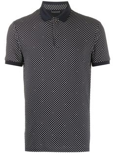 Emporio Armani рубашка-поло в горох