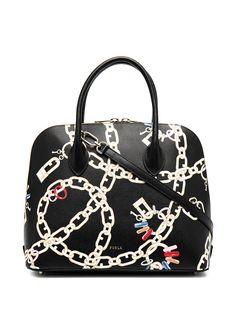 Furla сумка-тоут с принтом