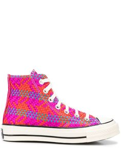 Converse woven high-top baseball trainers