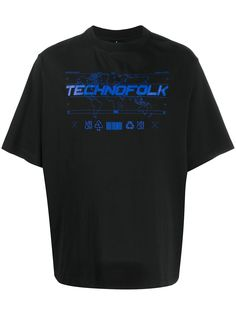 Marcelo Burlon County of Milan футболка Technofolk