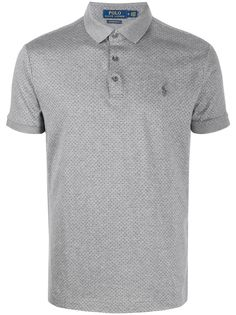 Polo Ralph Lauren рубашка-поло в мелкую точку