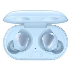 Наушники с микрофоном SAMSUNG Buds+, Bluetooth, вкладыши, голубой [sm-r175nzbaser]