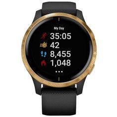 Спортивные часы Garmin Venu Black/Gold (010-02173-33)