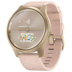 Спортивные часы Garmin Vivomove Style Light Gold/Pink (010-02240-22)