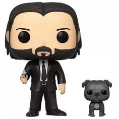 Фигурка Funko POP! John Wick: John (Black Suit) w/Dog