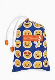 Чехол для чемодана Routemark SP180 Emoji (Эмоджи) L/XL