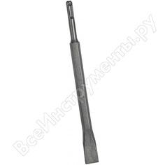 Зубило плоское с твердосплавным наконечником для перфораторов sds-plus (20х250 мм)зубр 29368-20-250