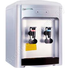 Кулер для воды aqua work 36tdn серебристый 10602