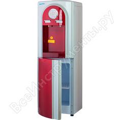 Кулер для воды aqua work ylr1-5-vb красный/серебристый 20279
