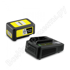 Комплект аккумулятор+зарядное устройство battery power 36/25 karcher 2.445-064