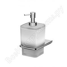 Стеклянный диспенсер для жидкого мыла с настенным держателем, хром am.pm a50a36900