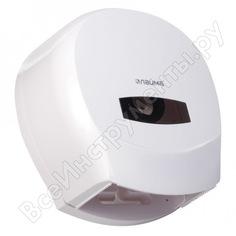 Диспенсер для туалетной бумаги лайма professional,малый, белый, abs-пластик, 601427