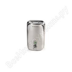 Диспенсер для жидкого мыла лайма 1 л, нержавеющая сталь, зеркальный, 601796
