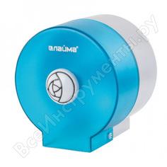 Диспенсер для туалетной бумаги в стандартных рулонах лайма круглый, тонированный голубой 605045