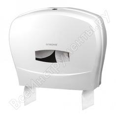 Диспенсер для туалетной бумаги лайма professional, большой, белый, abs-пластик, 601428