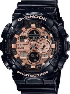 Японские мужские часы в коллекции G-SHOCK Мужские часы Casio GA-140GB-1A2ER