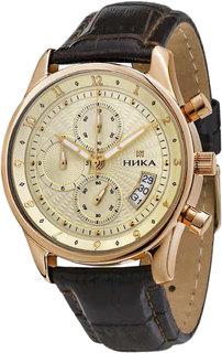 Золотые мужские часы в коллекции Gentleman Мужские часы Ника 1246.0.1.42A Nika