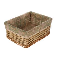 Корзина для хранения East willow коричневая 40х31х17см