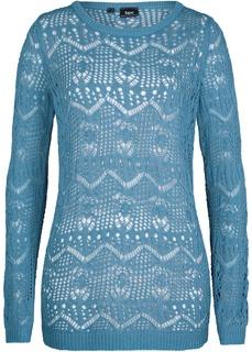 Пуловеры Пуловер с ажурным узором Bonprix