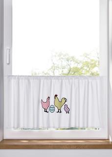Короткие шторы Кухонная занавеска из биохлопка Bonprix