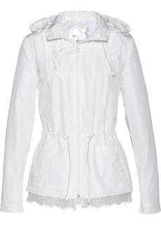 Куртки Ветровка с кружевной отделкой Bonprix