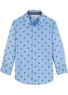 Костюмы и рубашки Рубашка с длинным рукавом Regular Fit Bonprix