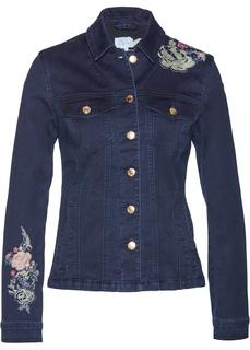 Джинсовые куртки Джинсовая куртка с аппликациями Bonprix