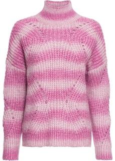 Пуловеры Пуловер с воротником-стойкой Bonprix
