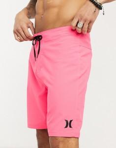 Розовые пляжные шорты Hurley One and Only 20-Розовый
