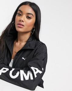 Черная куртка Puma chase-Черный