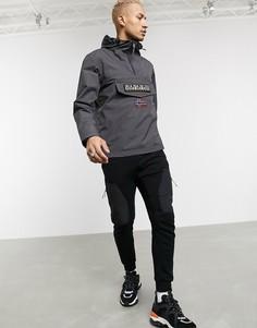 Серая куртка Napapijri-Серый