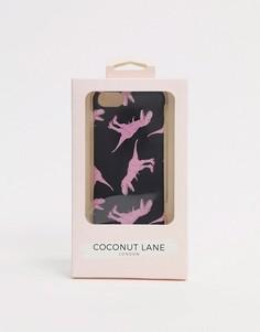 Чехол для iphone с принтом динозавра Coconut Lane-Мульти