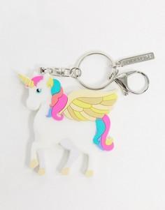 Брелок для ключей с единорогом Sunnylife-Белый