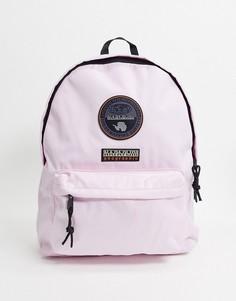 Светло-розовый рюкзак Napapijri Voyage