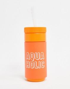 Бутылка для воды в стиле ретро Sunnylife-Оранжевый