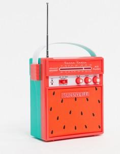 Bluetooth-динамик в стиле ретро Sunnylife-Розовый
