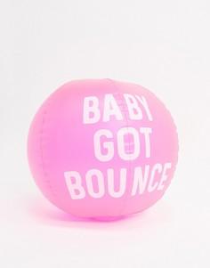 Надувной пляжный мяч Sunnylife-Розовый