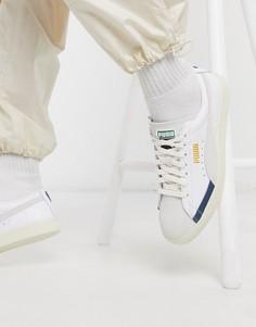 Белые кроссовки Puma Basket 90680-Белый