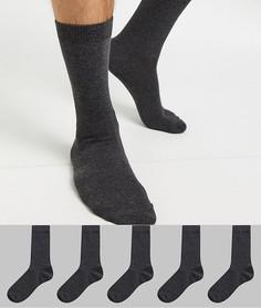 5 пар носков Brave Soul-Серый