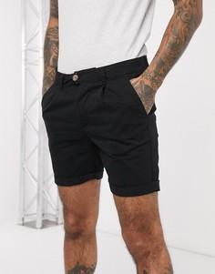 Черные базовые шорты чиносы Bellfield-Черный
