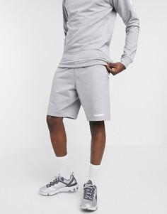 Серые шорты-бермуды Hummel-Серый