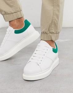 Белые/зеленые кроссовки Loyalty & Faith rapture-Белый