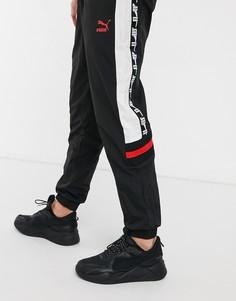 Черно-красные джоггеры Puma XTG-Черный
