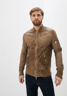 Куртка кожаная Giorgio Brato