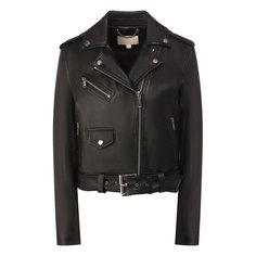 Куртки MICHAEL Michael Kors Кожаная куртка MICHAEL Michael Kors
