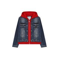 Куртки Philipp Plein Джинсовая куртка Philipp Plein
