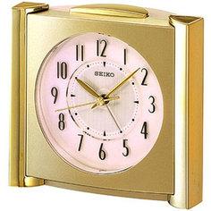 Настольные часы Seiko Clock QXE418GN. Коллекция Интерьерные часы