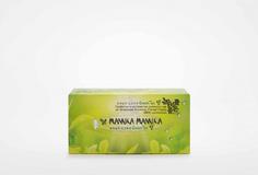 Салфетки для лица двухслойные с органическим зеленым чаем, 150 штук Mona Liza