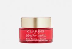 Восстанавливающий дневной крем с эффектом сияния для любого типа кожи Clarins